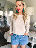 Light Knit Top - Ivory