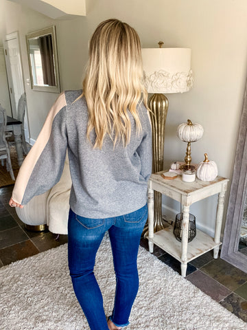 Neutral Luxe Sweater