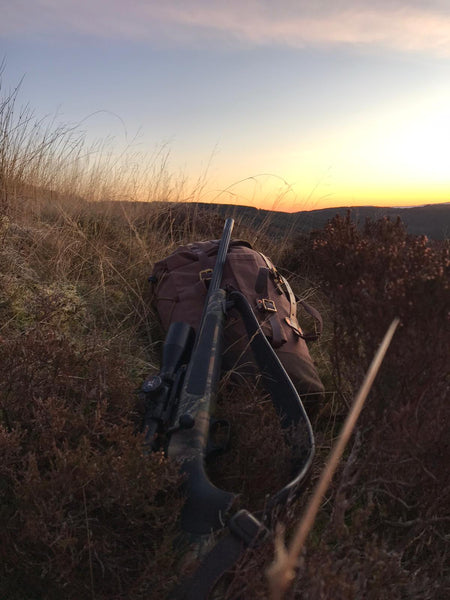 A Garron Pack in the Highlands. Photo : T Goddard.