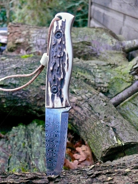 Stag and Damasteel All Weather Knife
