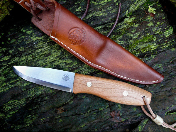 Cherry Handled Bushcraft Knife