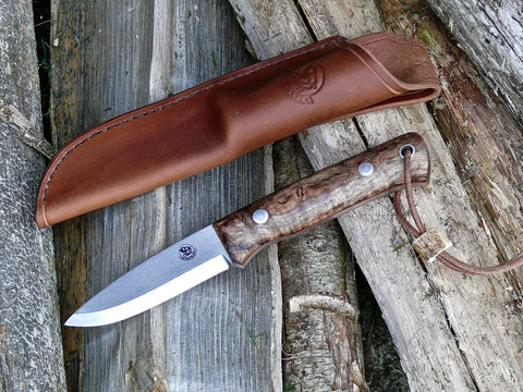 Woodsman Knife Spalted Maple