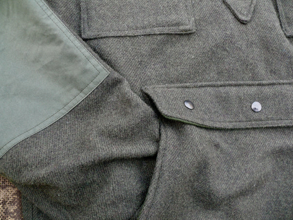 Bison Bushcraft Winter Jager Smock Pocket Detail