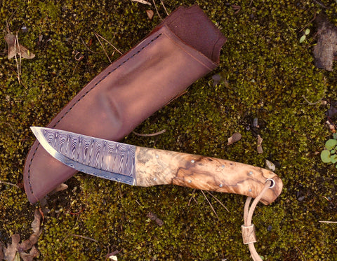 Bison Bushcraft Hunter Knife