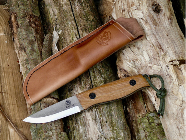 All Weather Neck Knife Natural Tufnol