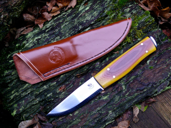 Rhubarb & Custard Wilderness Knife