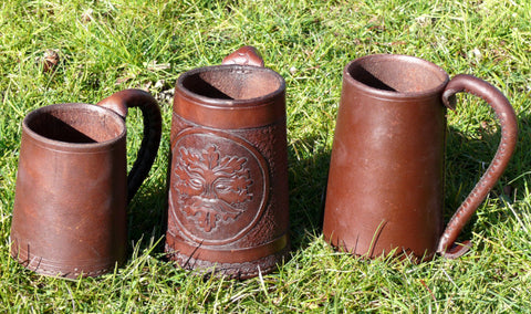 Leather Tankards