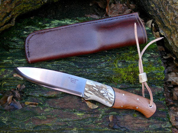 Woodie Knife Apple and Antler