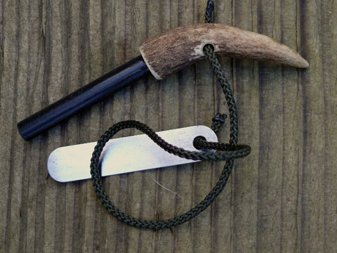 Hand Made Antler Handled Strikefire/Ferro Rod