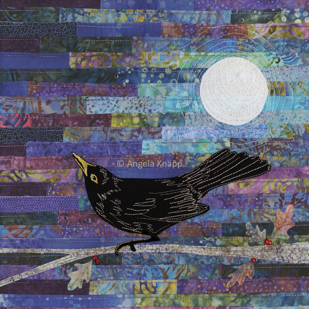 Blackbird Singing in the Dead of Night - Limited Edition Print