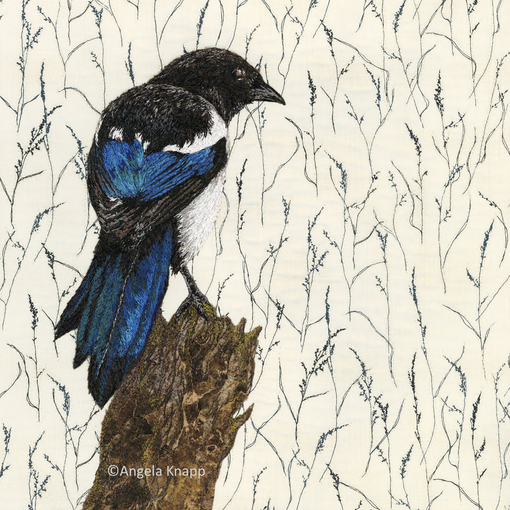 'One for Sorrow' Magpie - Limited Edition Print