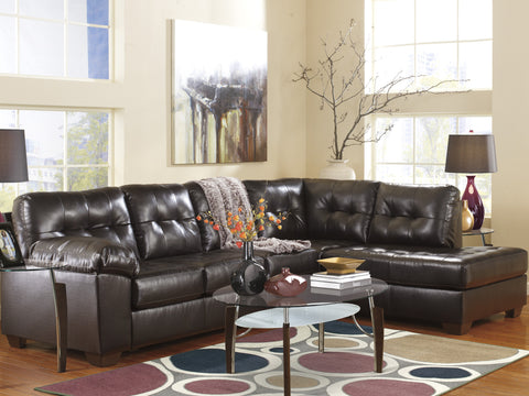 faux leather sectional. Alliston DuraBlend Contemporary Chocolate Color Faux Leather Sectionals Sofa Sectional