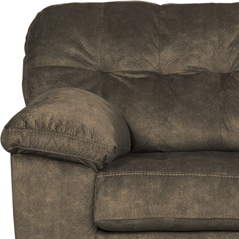 Amazing Accrington Contemporary Earth Color Padded Microfiber Loveseat Machost Co Dining Chair Design Ideas Machostcouk