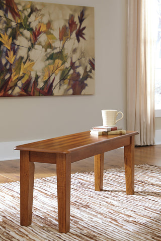 Berring Rustic Brown Large Dining Room Bench