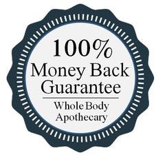 Parker lather brush backed by the whole body apothecary money back guarantee