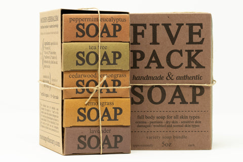 soap stack 5x variety pack