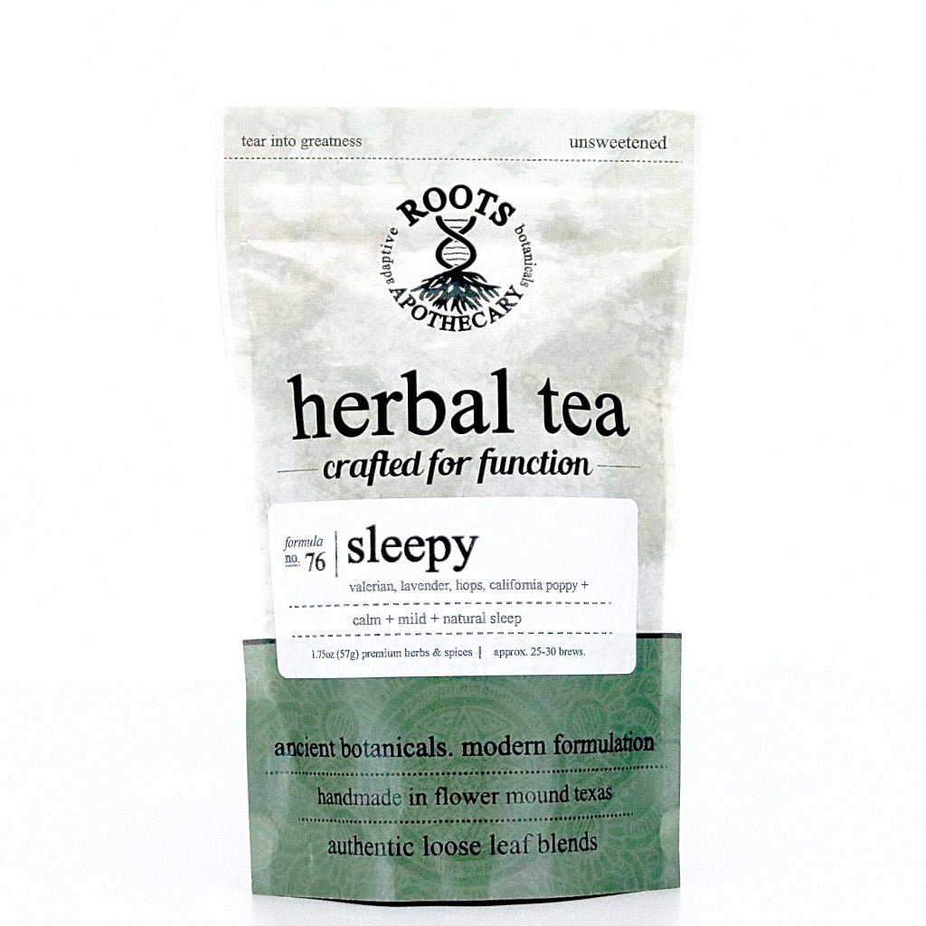 Herbal Tea - Sleepy Tea - organic loose leaf blend - calming herbal tea blend