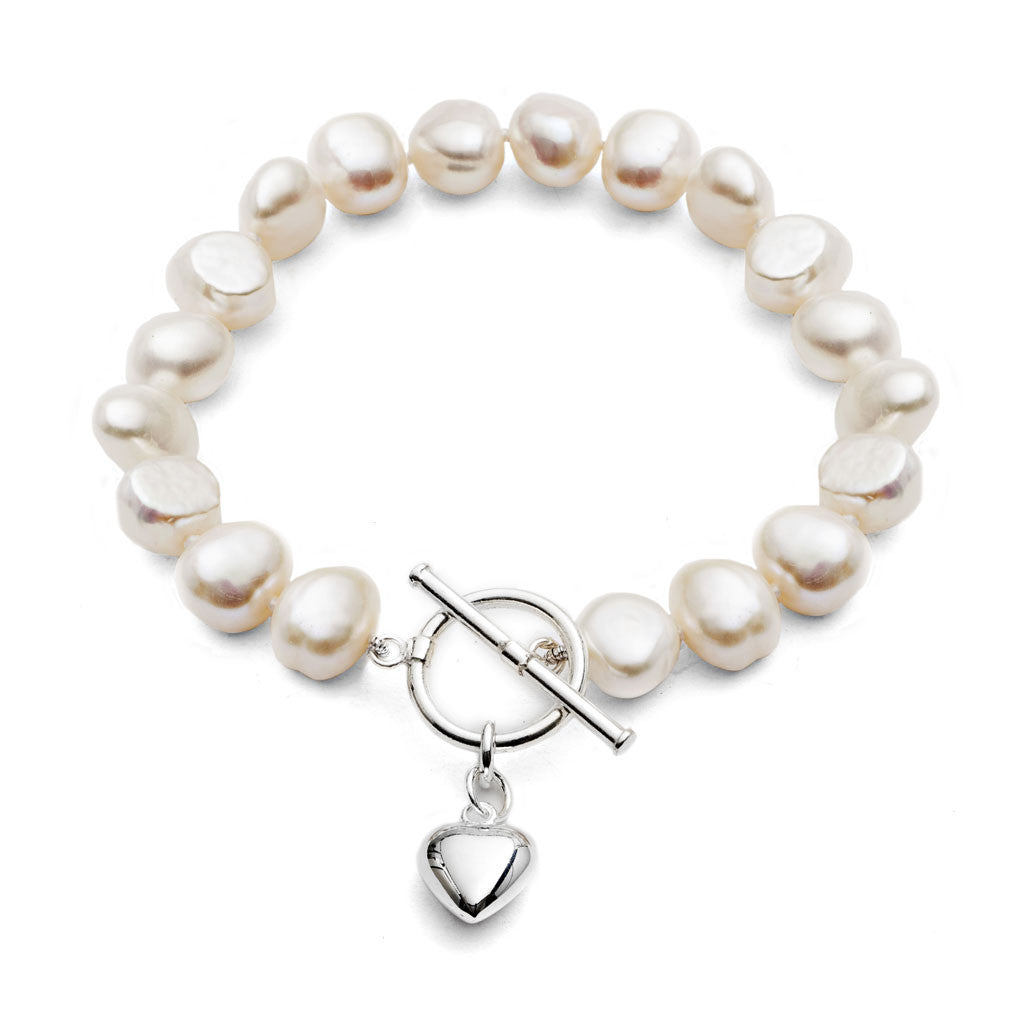 irregular of strand cultured freshwater bracelet ebp shaped pearl products pink pearls irregularly single