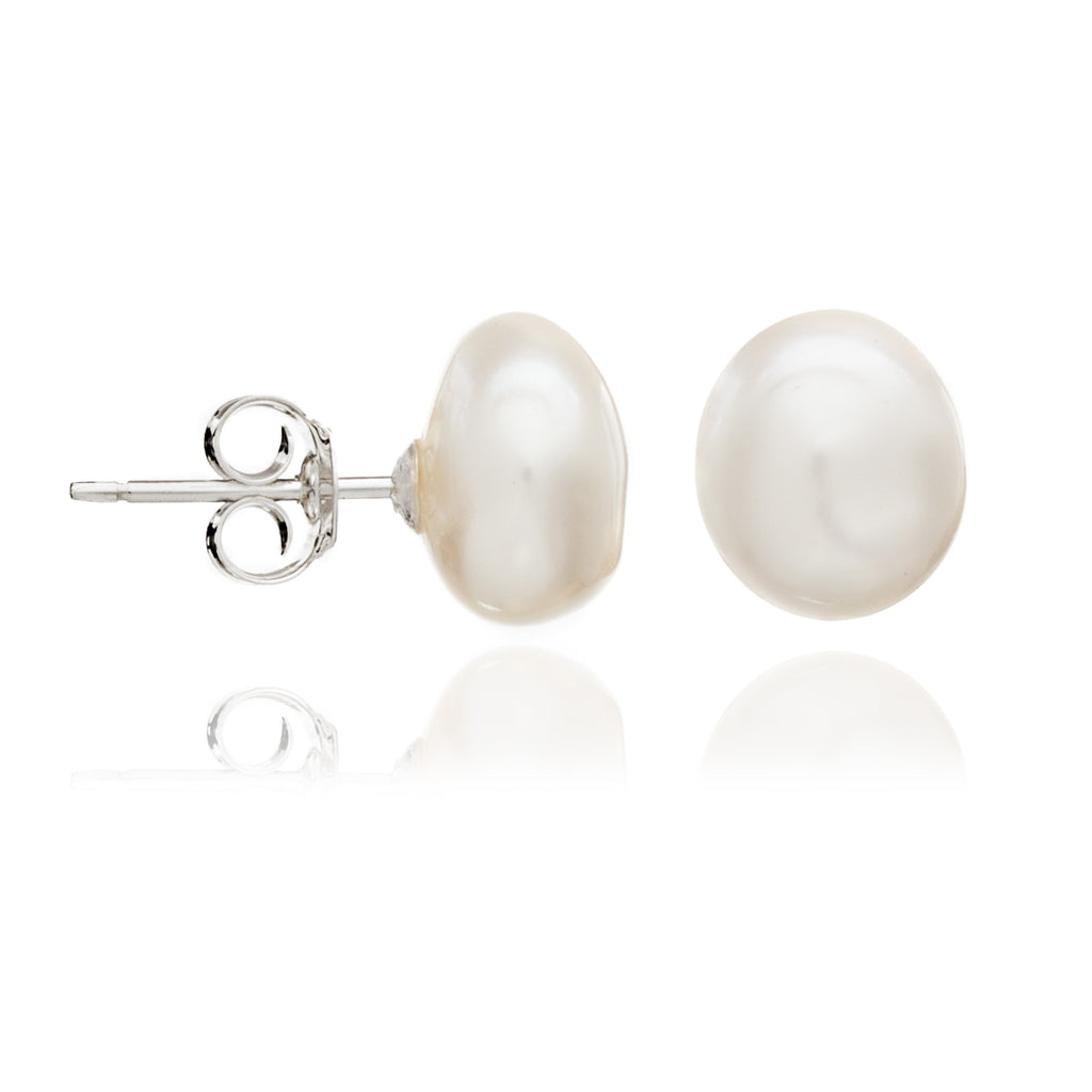 sea in yellow stud gold pearl carat winterson earrings golden south