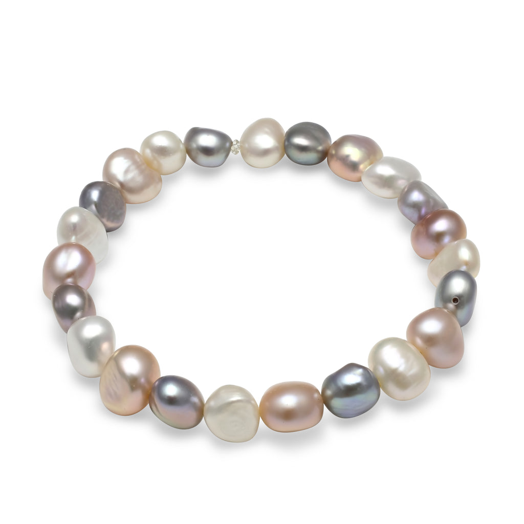 irregular white cultured products pearl pgw single freshwater purple strand green lime pearls shaped bra bracelet