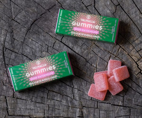 Best marijuana edibles: Valhalla awaits you with infused gummy candies