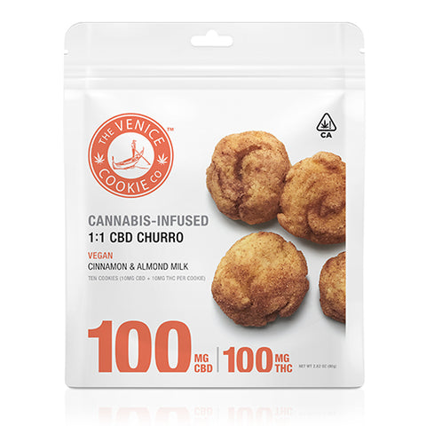 Venice Cookie Company - CBD Churro - 100mg
