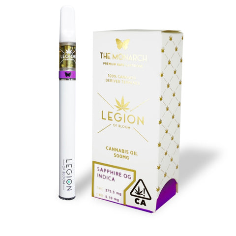 Legion of Bloom - Monarch Cartridge - 0.5g