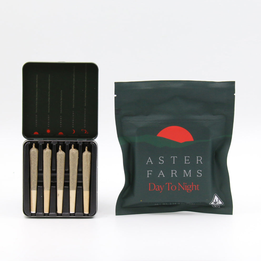 Aster Farms - Day to Night Pre Rolls