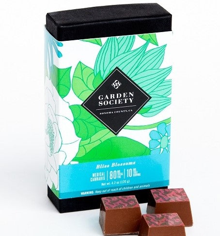 Garden Society Milk Chocolate w/Sea Salt 10:1 THC/CBD 80mg