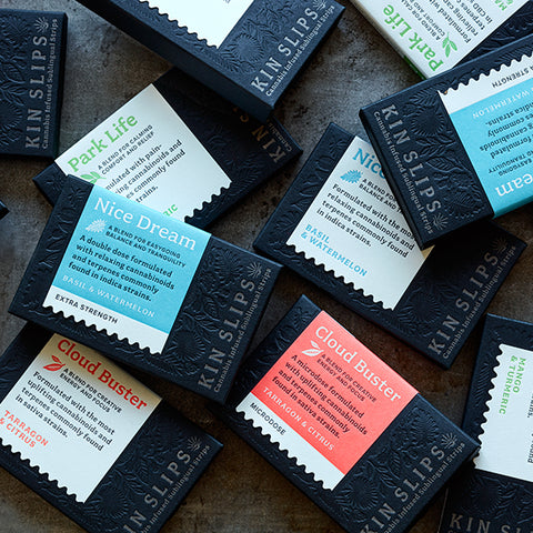 Kin Slips - Cannabis Infused Sublingual Strips