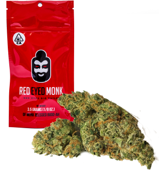 Red Eyed Monk - Monk Fruit (Indica)