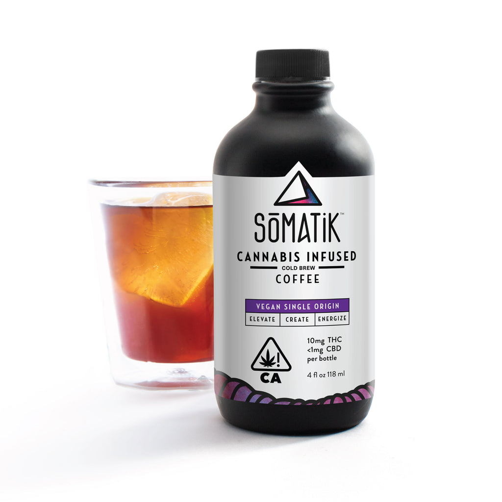 Somatik - THC Infused Cold Brew Coffee