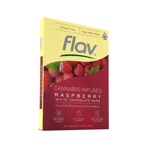 Flav - White Chocolate Raspberry Bar