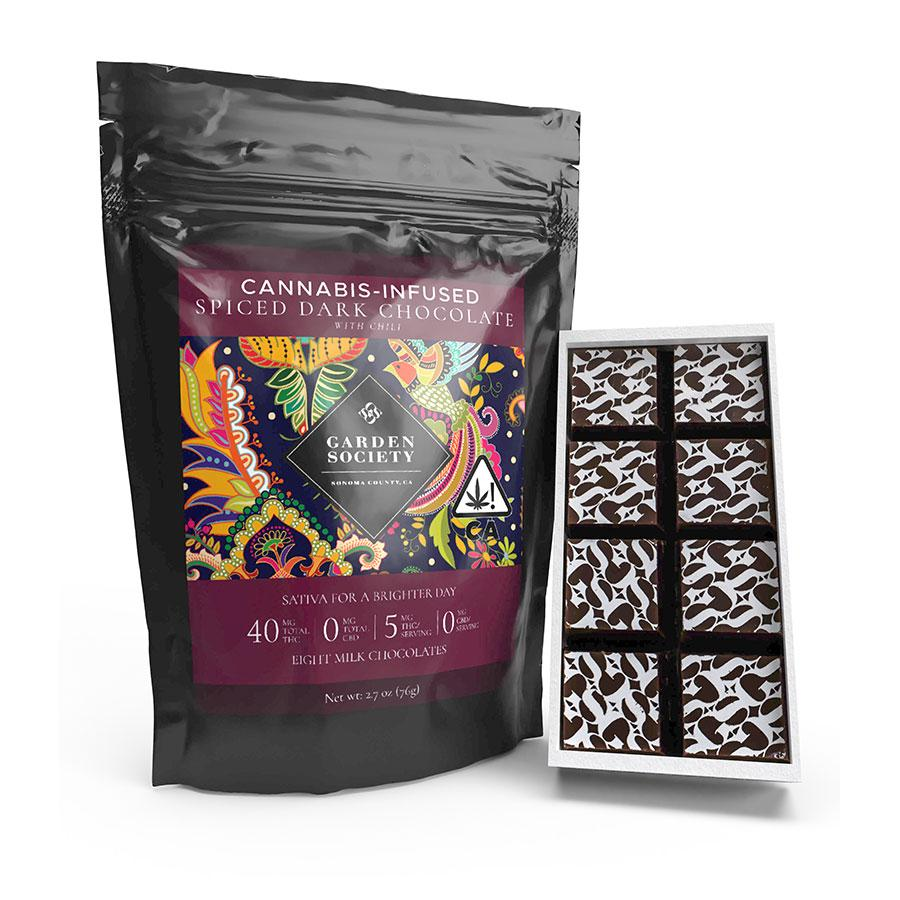 Garden Society Spiced Dark Chocolate with Chili