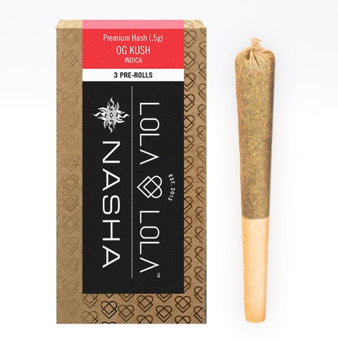 Lola & Lola - Hash Infused Preroll Pack