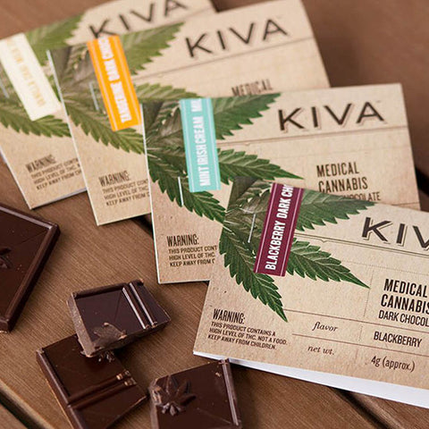 Kiva Chocolate Bar - 100mg