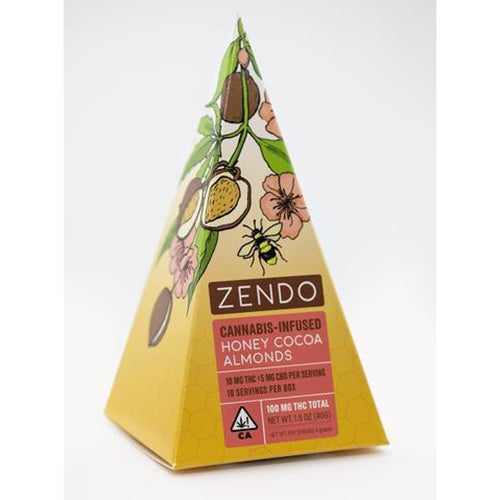 All Natural Almonds - by Zendo