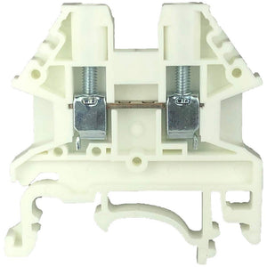 Dinkle DK2.5N-WE DIN Rail Terminal Block (Pack of 100)