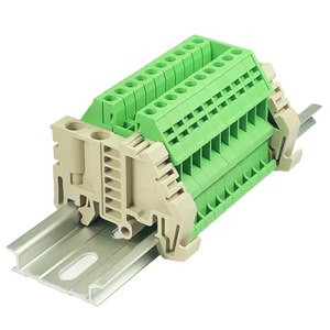 DIN Rail Terminal Blocks Assembly End Bracket DK2.5N-GN International Connector