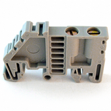 Dinkle SS2 DIN Rail Terminal Block End Bracket 32mm 35 mm Rail, Pack of 50