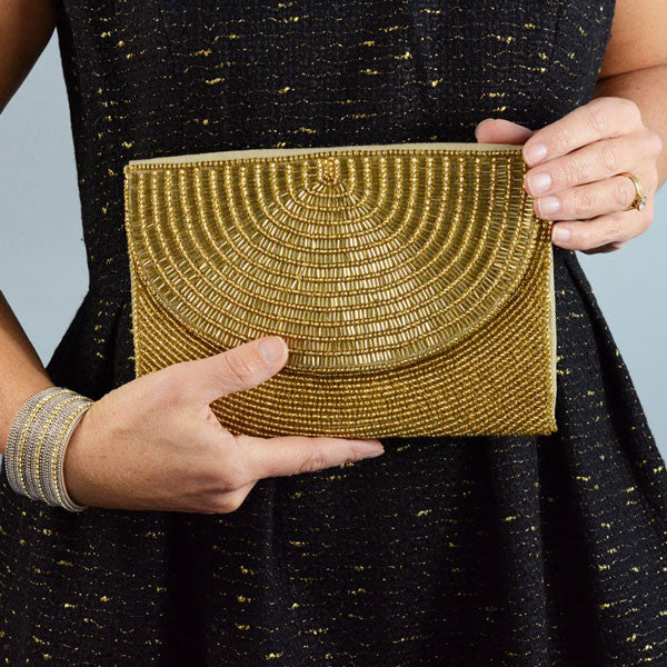 Styled by Tara: using a clutch to elevate your outfit
