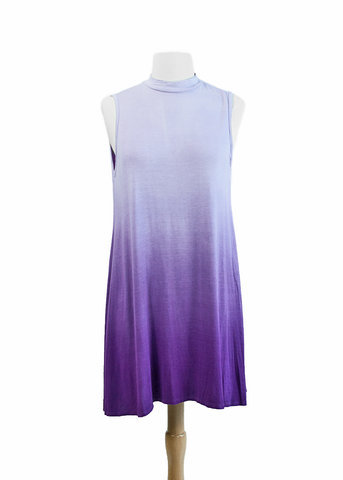 ombre dress-purple