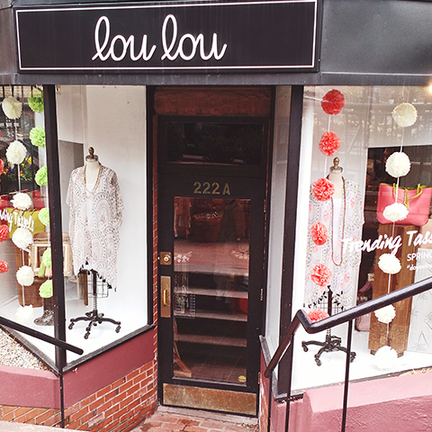 Boston, Ma back bay lou lou boutique