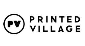 Printed Village Logo