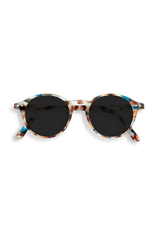 Colorful, tortoise-shell sunglasses