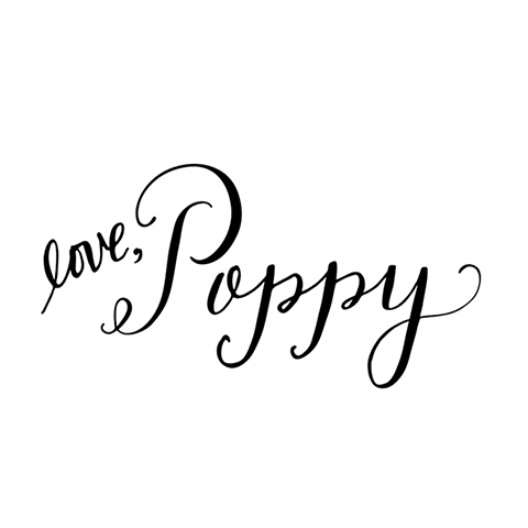 love poppy jewelry