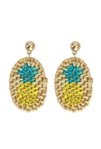 Unique, Pineapple accessory earring