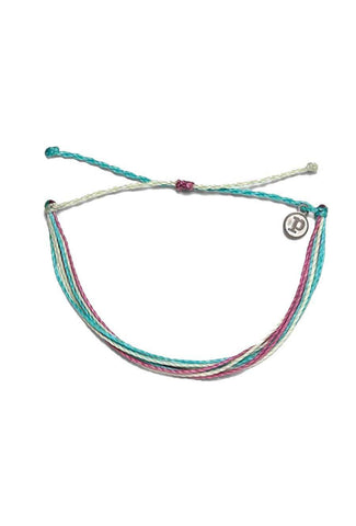 Stylish, rainbow anklet accessory