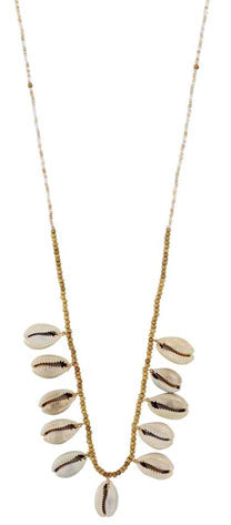 Cute, summer shell necklace accessory