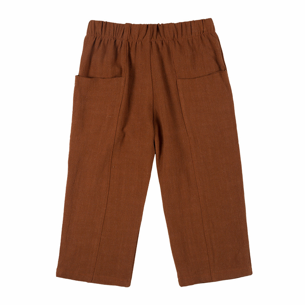Relaxed Pocket Pant - Clay
